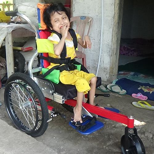 Age: 8 Location: Pejarakan, Goris Condition: