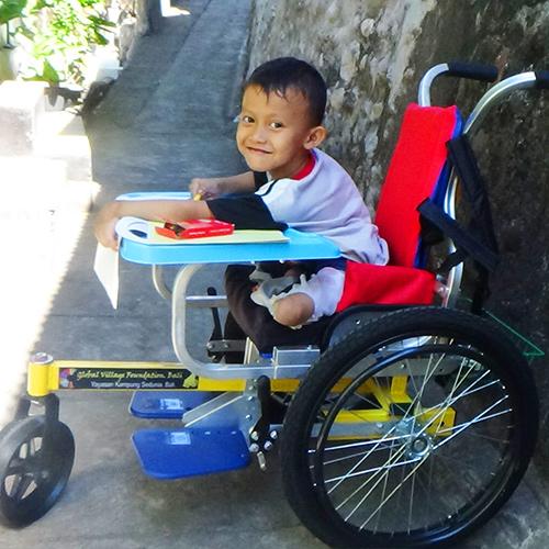 Age: 5 Location: Singaraja Condition: Cerebral Palsy