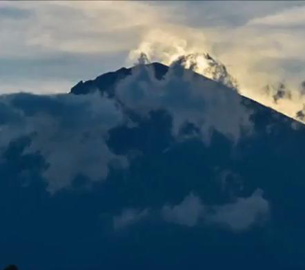 Mount Agung Evacuee Camp Visit Oct 28 2017