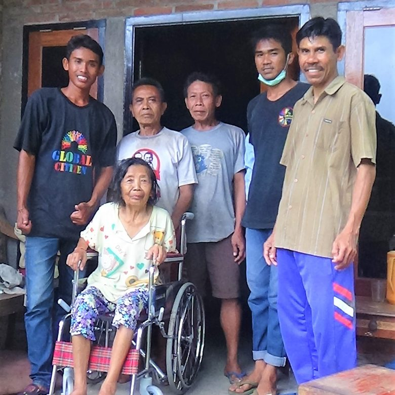 A New Wheelchair for Ibu Luh of Mayong Village